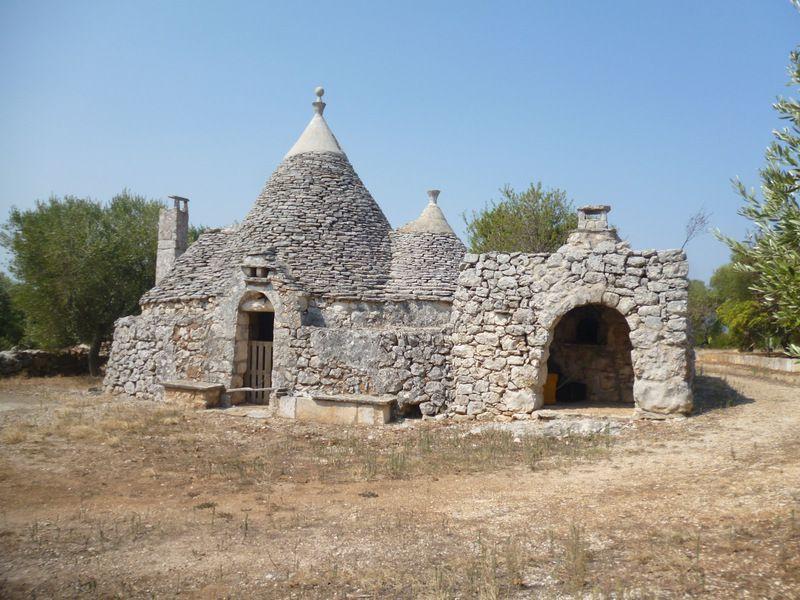 Trulli in vendita in Puglia, posizione panoramica