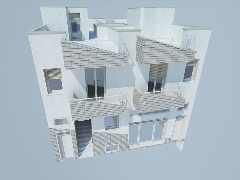 Appartamenti nuove costruzioni vendita, 3 vani e servizi