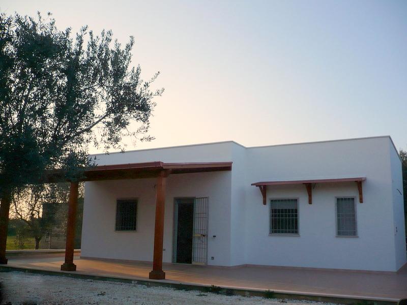 Villa nuova costruzione con uliveto in vendita, VILLA SERENA