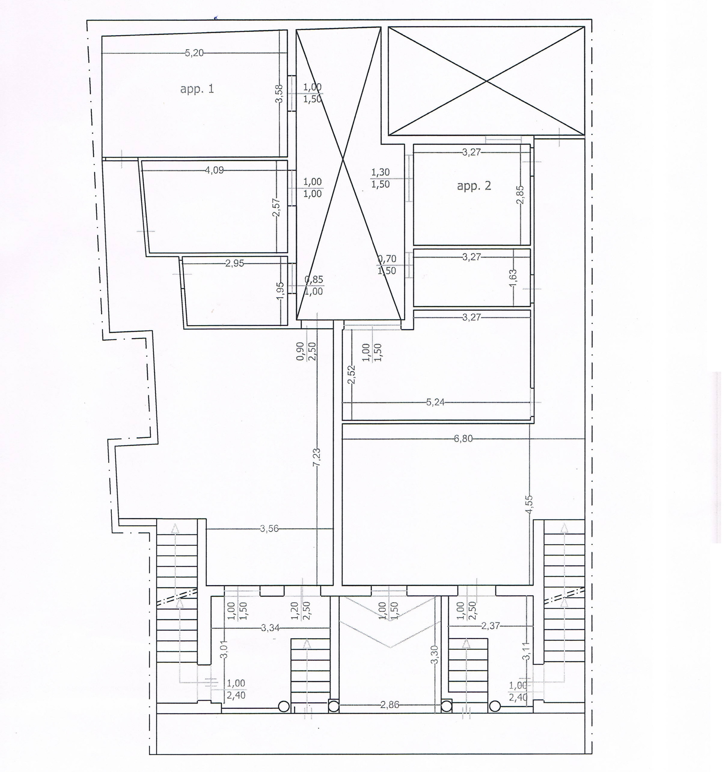 Appartamenti in vendita di nuova costruzione, piano terra e primo