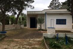 Villa in vendita a Latiano, da 3 vani + servizi, con terreno uliveto. L'immobile si compone di soggiorno-pranzo, e 2 camere da letto.