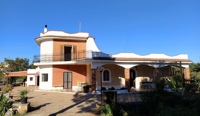 Villa in vendita con pineta e giardino