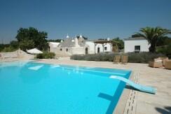 Trulli in vendita Martina Franca con piscina